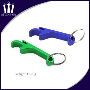 Hot Sale Metal Aluminum Bottle Opener with Key Chain pictures & photos