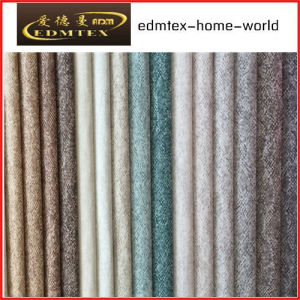100% Polyester Wholesale Burnout Velvet Upholstery Fabric (EDM-TC101) pictures & photos