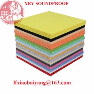 KTV 3D Polyester Fiber Sound-Absorbing Board Decoration Panel Board Sheet pictures & photos
