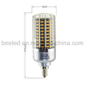 LED Corn Light E12 20W Warm White Silver Color Body LED Bulb Lamp pictures & photos