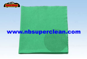 New Design Eyeglass Lint Free Cleaning Cloth, Microfiber Cleaning Cloth Camera (CN3666) pictures & photos