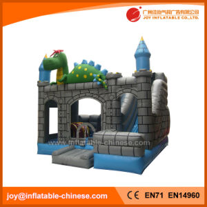 Dinosaur Inflatable Slide Combo Castle for Amusement Park (T3-301) pictures & photos