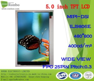 """5.0""""480X800 Mipi TFT LCD Screen, Ili9806e, 25pin for POS, Doorbell, Medical pictures & photos"""