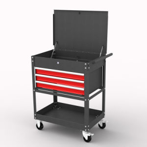 33′′ 3 Drawer Service Cart; Service Cart pictures & photos