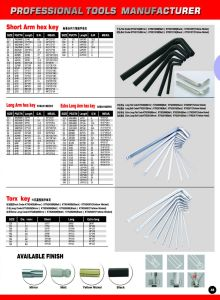 9 PCS Good Quality Torx Hex Key Set pictures & photos