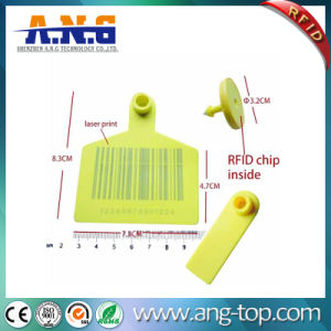UHF RFID Animal Visual Ear Tags Accurate Trace Back Information pictures & photos