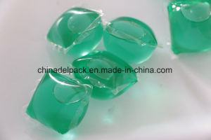 Liquid Laundry Detergent Pod, Green Liquid Detergent Pod, OEM&ODM Laundry Liquid Detergent Pod, Concentration Liquid Detergent Capsule pictures & photos