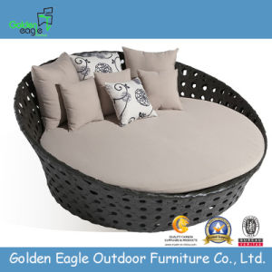 Popular Flat Wicker Outdoor Daybed