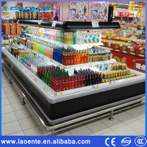 Island Refrigerator Cabinet, Commercial Freezer pictures & photos