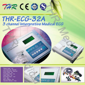 Thr-ECG-32A Portable Digital 3-Channel Interpretive ECG pictures & photos