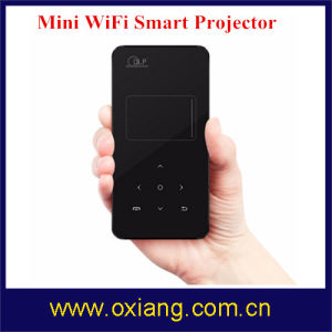 Hot Sale Android Smart Projector, WiFi LED Mini Projector, Mobile Smart Projector for Home pictures & photos