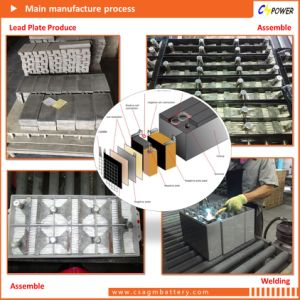 FT12-150/155 Front Terminal Battery 12V150ah 12V155ah Solar System Ce UL pictures & photos