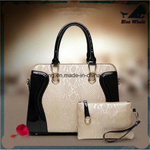 Bw272 fashion Designer PU Leather Tote Lash Shouder Handbag pictures & photos