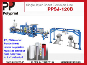 PP Material Sheet Extruder (PPSJ-100) pictures & photos