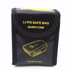 Sunflying Lipo Battery Storage Bag Fireproof Explosionproof for Dji Mavic PRO Battery Protection pictures & photos