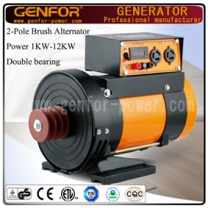 1-12kVA Double Bearing Alternator Install with Belt for Diesel Generator, Compresser Machine pictures & photos