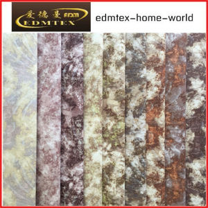100% Polyester Wholesale Burnout Velvet Upholstery Fabric (EDM-TC100) pictures & photos
