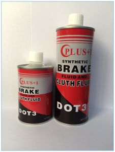 Synthetic Oil Brake Fluid DOT 3 for Hydraulic Brake System pictures & photos