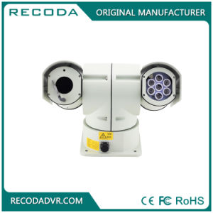 360 Degree Vehicle Mounted PTZ Camera Video Camera IP66 with IR Lights Fit for Police Car pictures & photos