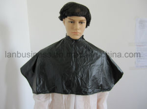 Custom Hair Cutting Capes Black Short pictures & photos