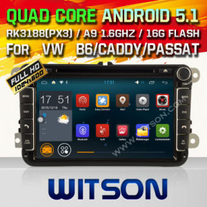 Witson Android 5.1 System Car DVD for VW Tiguan (W2-F9240V) pictures & photos