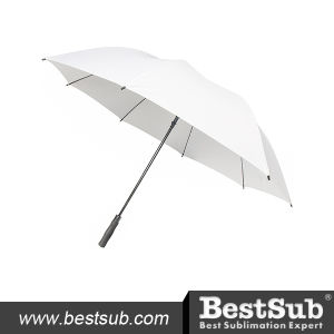 30 in. Golf Umbrella (Self-Opening, White) pictures & photos