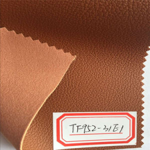 Microfiber PU Leather for Living Room Sofa Ottoman Chairs Hx-F1702 pictures & photos