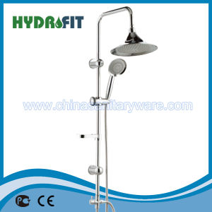 Brass Shower Sliding Bar Shower Head Slide Bar Shower Column (HY508) pictures & photos