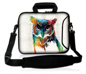 Owl Images Both Sides - 15 in Laptop Tablet Slip Case Cover pictures & photos