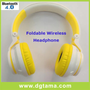 Fashion Design Noise-Cancelling Overhead Headband Wireless Bluetooth Headphone pictures & photos