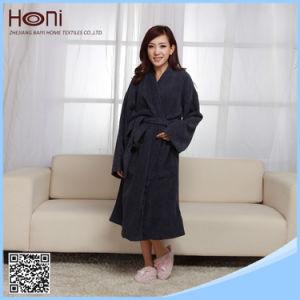 China Wholesale Plain Cotton Women Bathrobe
