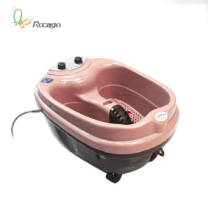 Health Care Massager Basin for Foot Bath with Vibration Function pictures & photos