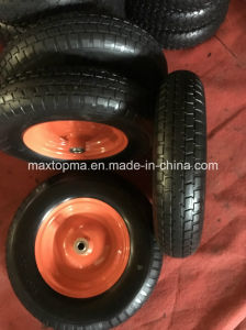 Sunstar Rubber Flat Free PU Foam Wheel pictures & photos