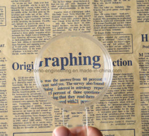 High Quality Magnifying Glass Plastic Magnifier pictures & photos