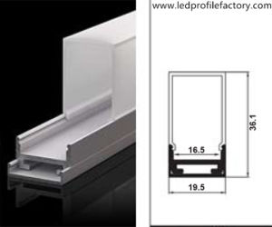 Ns1911p Aluminium Extrusion LED Aluminium Profile LED Linear Pendant Light pictures & photos