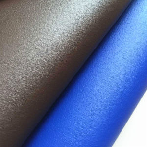 Anti Bacterial Synthetic PU Leather for Shoes Lining Hx-F1711 pictures & photos