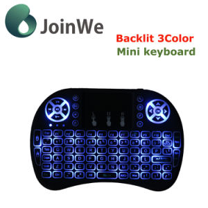 I8 Fly Mouse for TV Box 3 Color Mini Keyboard Air Mouse pictures & photos