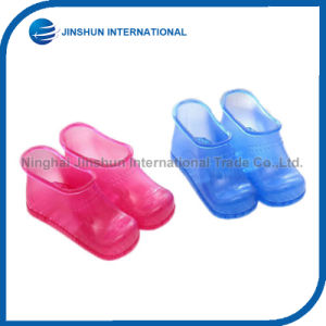 Special Design Bath Cleaning Shoes Plastic Foot Care Massager pictures & photos