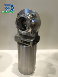 "Stainless Steel Sanitary 1.5"" Pneumatic Actuator Triclamp Butterfly Valves pictures & photos"