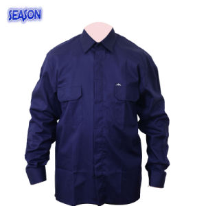 Navy Blue T/C Safety Jacket Protective Safety Apparel Workwear Clothing pictures & photos
