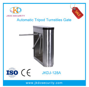 304 Stainless Steel 1.2mm RFID Smart Access Control Tripod Turnstile pictures & photos