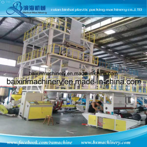 Poly Mailer Film Blowing Machine Three Layer Two Layer pictures & photos