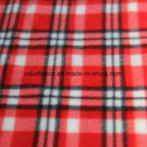 Brushed Polar Fleece with Check Designs pictures & photos