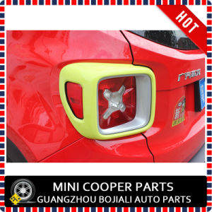 Auto Accessory ABS Material Yelllow Style Rear Lamp Cover for Renegade Model (2PCS/SET) pictures & photos