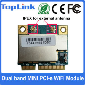 Top-43228 Broadcom 802.11A Dual Band 300Mbps Mini Pcie WiFi Module pictures & photos