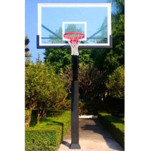 Durable Structure Underground Basketball Stand, in-Ground Basketball Stand pictures & photos