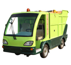 Electric Refuse Truck with Back Loading Ce Approved pictures & photos