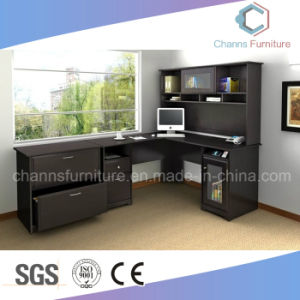 Factory Wooden Furniture Executive Office Table with Bookshelf pictures & photos