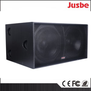 "S218 2400W Sound System Passive 18"" Subwoofer Speaker Box pictures & photos"