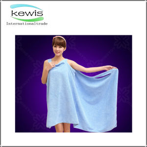 New Design Magic Microfiber Wearable Bath Towel pictures & photos